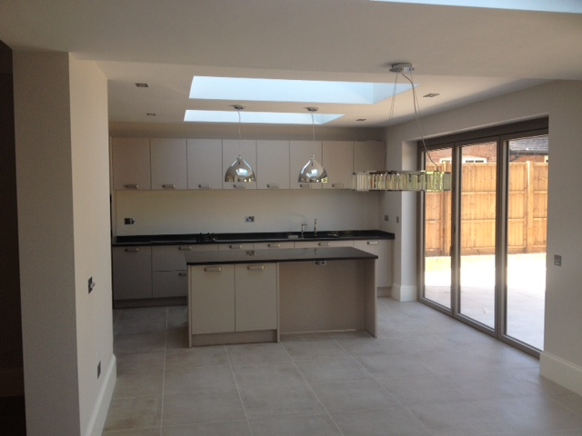 after fitting of kitchen northwood